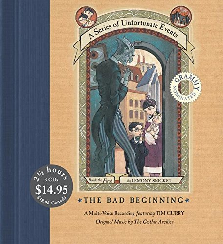 Bad Beginning, the (Series of Unfortunate Events (HarperCollins Audio))