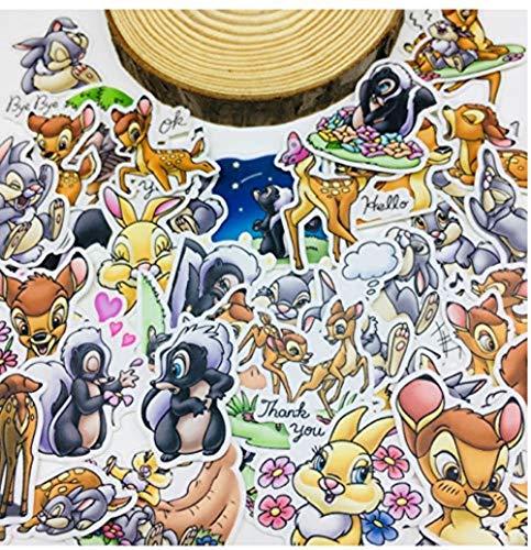 MKeDa Cartoon Tier Scrapbooking Aufkleber Auto gehäuse wasserdichte Tragbare Fahrrad Kinder Spielzeug Rucksack wasserdichte Aufkleber 25 Teile / los (Tier-gehäuse)