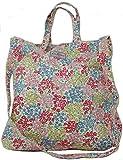 Cath Kidston - Bolso de viaje de algodón Mujer crema M