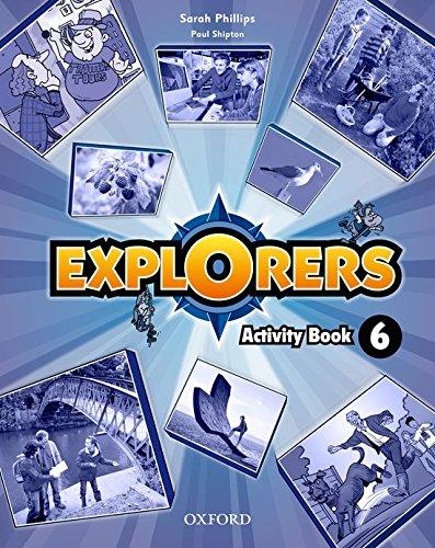 Explorers 6. Activity Book - 9780194509428