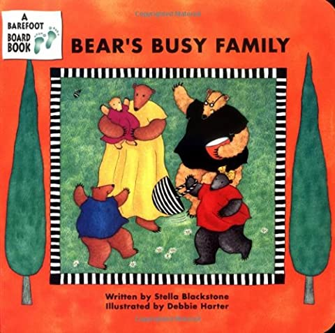 Bear's Busy Family (A Barefoot Board Book)