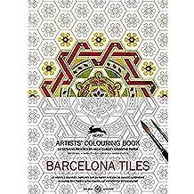 Libro de Artistas de Colorear PEPIN BARCELONA TILES 16 Diseños Mandala 7067 8178