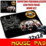 Maus Pad Guns N Roses–Gruppen Mauspad personalisierbar mit Foto, Logo etc