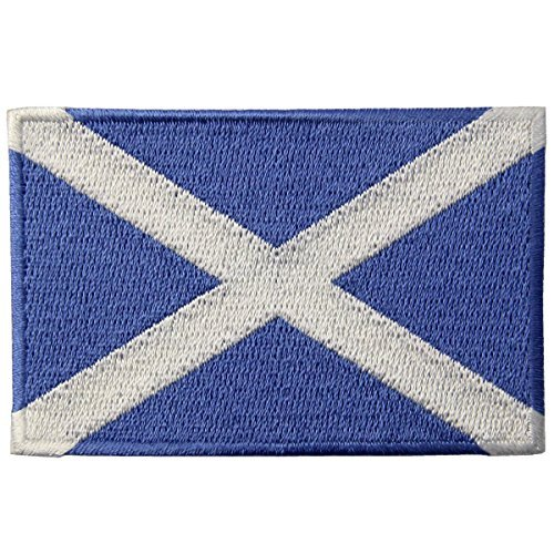 National Schuhe Kostüm - Schottland Flagge Scottish National Emblem gesticktes Eisen auf Sew auf Patch