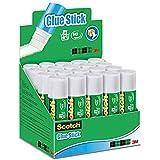 Scotch Pegamento de Barra - 1 Caja con 20 Barras de Pegamento - Barras de 21g - para Uso General para el Colegio, el Hogar y