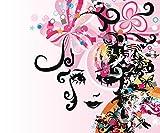Fototapete BEAUTIFUL FACE Nr:6TG-723 300x250cm Wandbild Bildtapete Wanddekor Poster Aufkleber Wandtatoo Bordüre wall mural wallpaper
