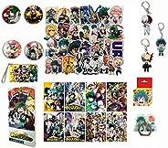 Boku No Hero Academia My Hero Academia Stickers Collectibles Looksee Box Gift Set MHA Stickers (Basic)