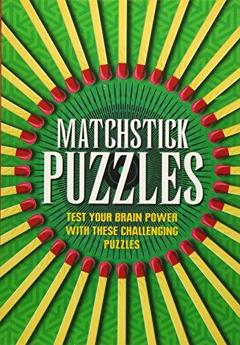 Matchstick Garden (MATCHSTICK PUZZLES (Puzzle Books))