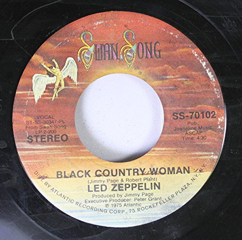 LED ZEPPELIN 45 RPM BLACK COUNTRY WOMAN / TRAMPLED UNDER FOOT