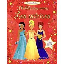 J'habille mes amies - Les actrices - Autocollants Usborne