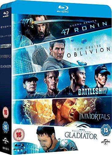 47 Ronin/Oblivion/Battleship/Immortals/Gladiator [Edizione: Regno Unito] [Reino Unido] [Blu-ray] 61lFjbxkiVL