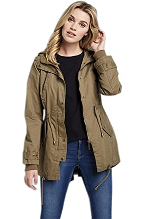 Womens Summer Parka Jacket - Pl Jackets