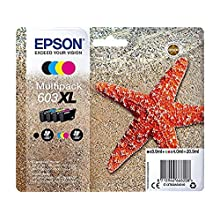 Epson Original Ink Cartridge Compatible with Expression Home/Workforce Series, 850 Pages, Cyan/Magenta/Yellow/Black, Multipack
