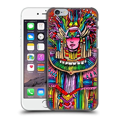 Ufficiale Howie Green Cantante Hippie Psichedelico Cover Retro Rigida per Apple iPhone 5 / 5s / SE Donna Mardi Gras 1