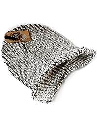 PRESKIN – Élégant bonnet tricoté Sel-poivre-Design, Cool - mais chaleureux, streetwear, unisexe, One Size