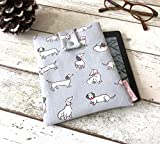 Sausage Dog Kindle Sleeve, Kindle Fire Case, Paperwhite, Voyage Cover, Unique eReader Pouch