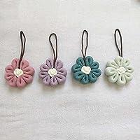 Kaige Ducha de flor de baño bola bola baño flor baño bola un paquete de cuatro piezas