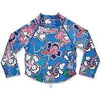 Dakine Camiseta de manga 3% 2F4 niña Ocean Flower FR: 4 años (4T) talla fabricante: