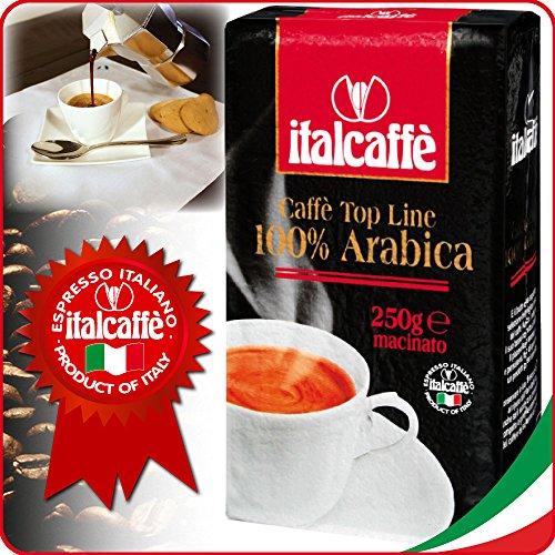 Italcaffè 100% Arabica Kaffee gemahlen 4 x 250g