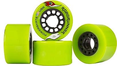Powerskate Roadrunner Road Racing Quad Skate Wheels