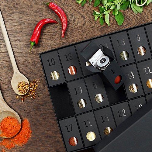 Gewürz-Adventskalender – Kalender mit 24 edlen Gewürzen und Rezepten - 5