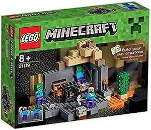 LEGO Minecraft Das Verlies Amazonde Spielzeug - Lego minecraft haus bauen anleitung