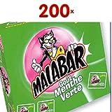Malabar Menthe Verte et Tattoos 200 Stck. Packung (Kaugummi grüne Minze)