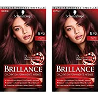 Schwarzkopf Brillance Coloration Acajou Intense 876 60 ml -