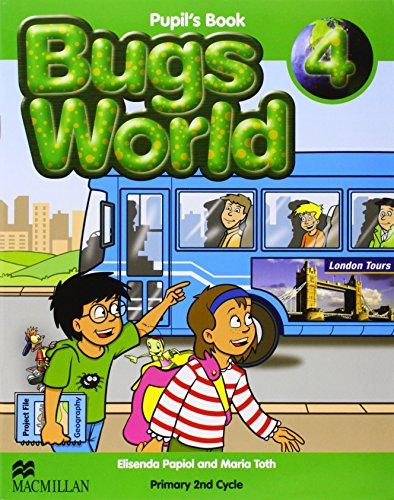 BUGS WORLD 4 Pb - 9780230719279