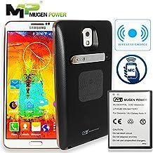 Mugen Power - Samsung Galaxy Note 3 N9005 Batería extendida estupenda 6500mAh con la contraportada (NFC compatible y carga sin hilos) (negro)