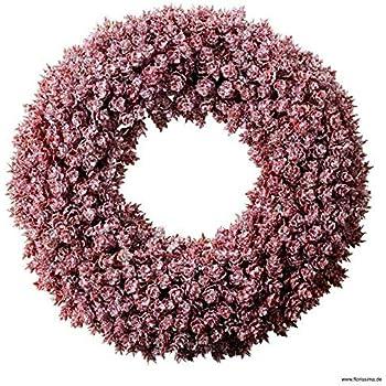 3 St/ück Oliv, /Ø 20cm Deko Wandkranz//Weihnachtskranz//Gewachster H/ängekranz//Tischkranz//Asparaguskranz Natur T/ürkranz Weihnachten Wundervoller Asparagus Kranz Gewachst