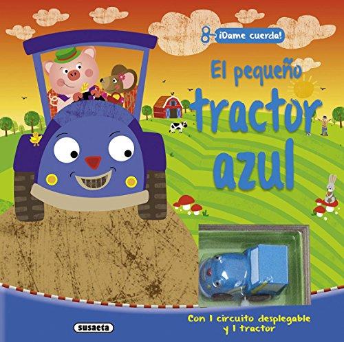 El pequeño tractor azul (Pequeñas máquinas)