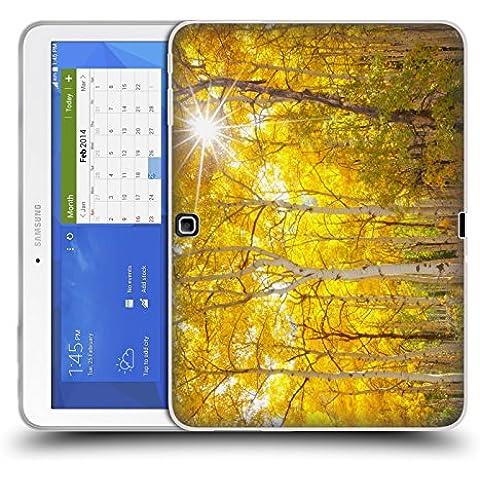 Ufficiale Darren White Fuoco Sull'Albero Colori Dell'auunno Cover Morbida In Gel Per Samsung Galaxy Tab (Albero Di Fuoco)
