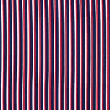 Fabulous Fabrics Twill Streifen extraleicht - blau/rot -