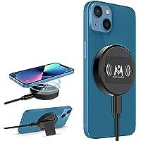 KKM Magnetisch Wireless Charger,Kompatibel mit MagSafe Ladegerät,15W Kabellos Ladegerät für iPhone 13 Mini/ 13/13 Pro…