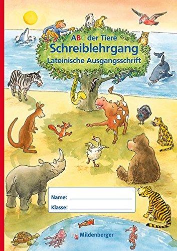 ABC der Tiere - Schreiblehrgang LA in Sammelmappe, Erstausgabe (Das Abc In Schreibschrift)