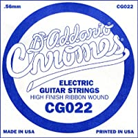 D'Addario Corde seule à filet plat pour guitare électrique D'Addario CG022.022