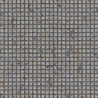Ideal for Roleplay 2ftx2ft PVC Game Mat with Flagstone Pattern in 1 Inch Grid
