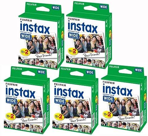 Polaroid Fujifilm Instax - Fujifilm Lot de 5 packs de 20