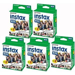 Fujifilm-Instax–5-Boxen–20-Fotopapiere-100-Fotos-im-breiten-Format-fr-Fuji-Instax-210