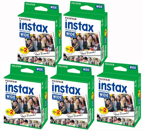 fujifilm-lot-de-5-packs-de-20-films-fujifilm-instax-wide-pour-appareils-fuji-instax-210-100-photos