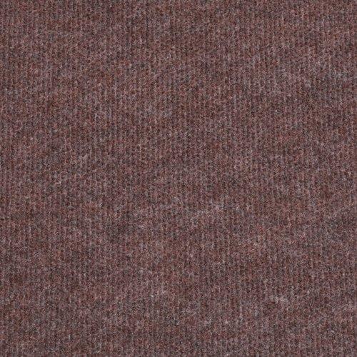 Cord Carpet, Brown, Cheap Thin Flooring - 4m x 4m