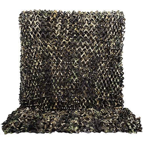 LOOGU KSS Tarnnetz im 3D Effekt Design - Sonnenschutz Tarnung Sichtschutz - Für Garten Camping Bar Restaurant und vieles mehr - Verschiedene Größen und Farben (Yellow Maple Leaves, 1.5x2 M) (Restaurants Jalousien Für)