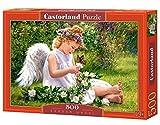 Castorland - B-51991-2 - Puzzle - Hein - L' Ange du Jardin - 500 Pièces