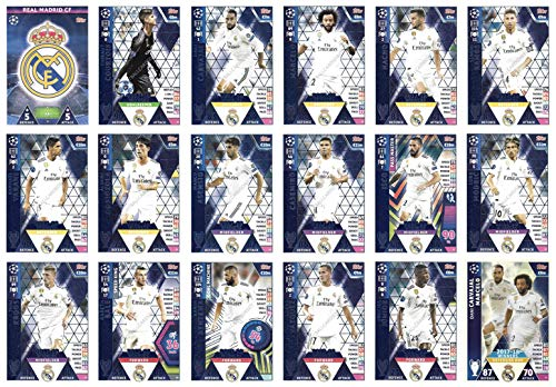 Match Attax Champions League 2018/19 Real Madrid, 18-teiliges Team-Set