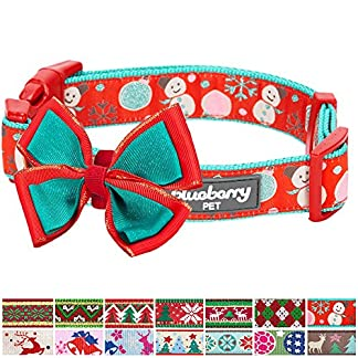 blueberry pet moments of excitement snowman making christmas designer dog collar, medium, neck 37cm-50cm, holiday collars for dogs Blueberry Pet Moments of Excitement Snowman Making Christmas Designer Dog Collar, Medium, Neck 37cm-50cm, Holiday Collars for Dogs 61lGtCrhsSL