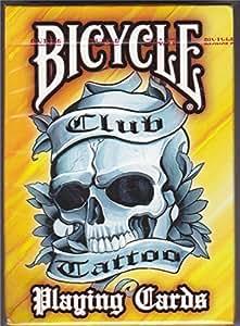 Bicycle bclubo–Jeu de 52cartes format Poker