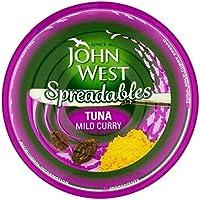 John West Untables De Atún Al Curry Suave 80g (Paquete de 6)