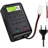 Keenstone Airsoft Chargeur Batteries avec Prise Mini Tamiya et Adaptateur Standard pour Batteries NiMH 1-8s Compatible pour B