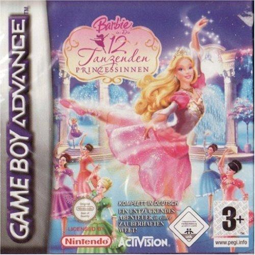Barbie und Die 12 tanzenden Prinzessinnen (GBA) gebr.